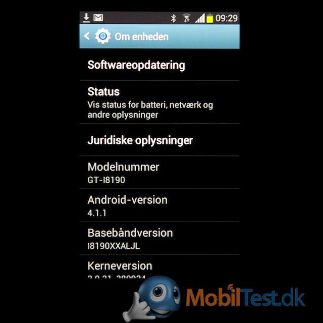Nyeste udgave af Android