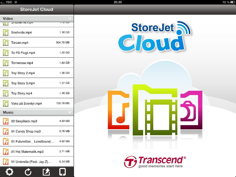 App på iPad
