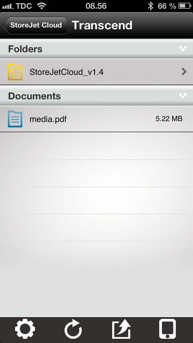 Dokumenter i StoreJet