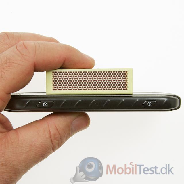 Xcover 2 er ikke en tynd mobil