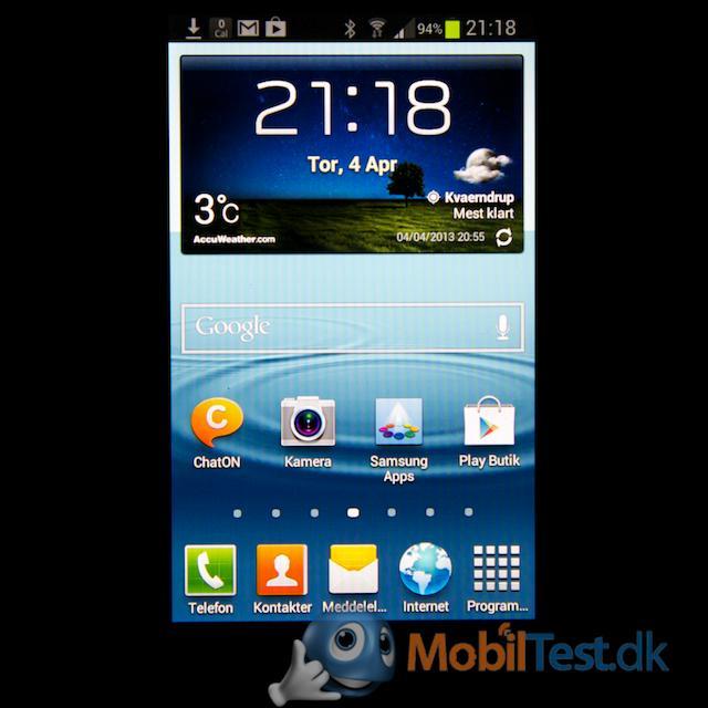 Velkendt Samsung-homescreen