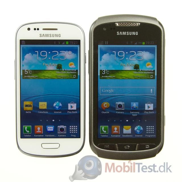 Galaxy S3 mini og Xcover 2