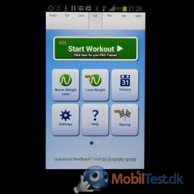 Samsung Cardio Trainer