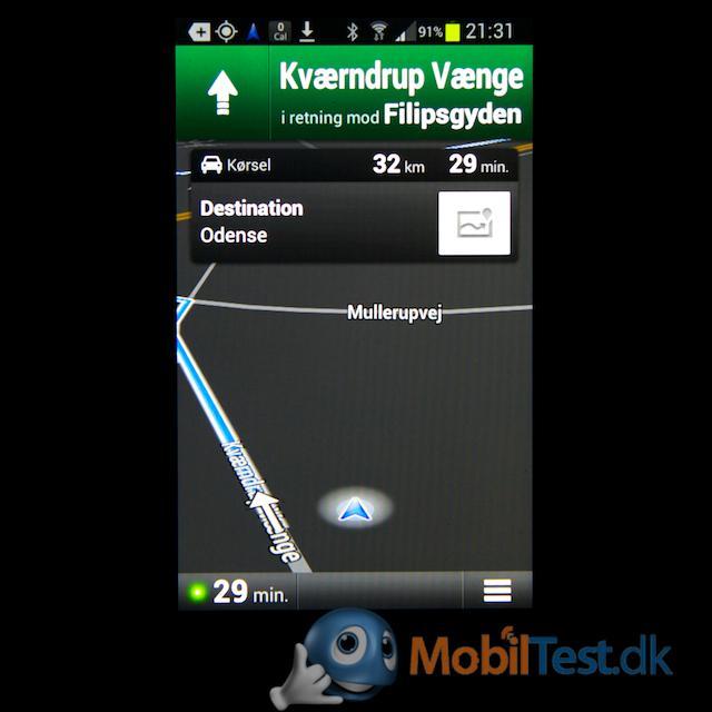Google GPS-navigation