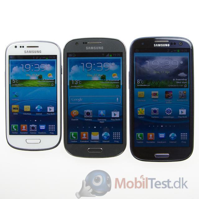 S3 mini, Xpress og S3