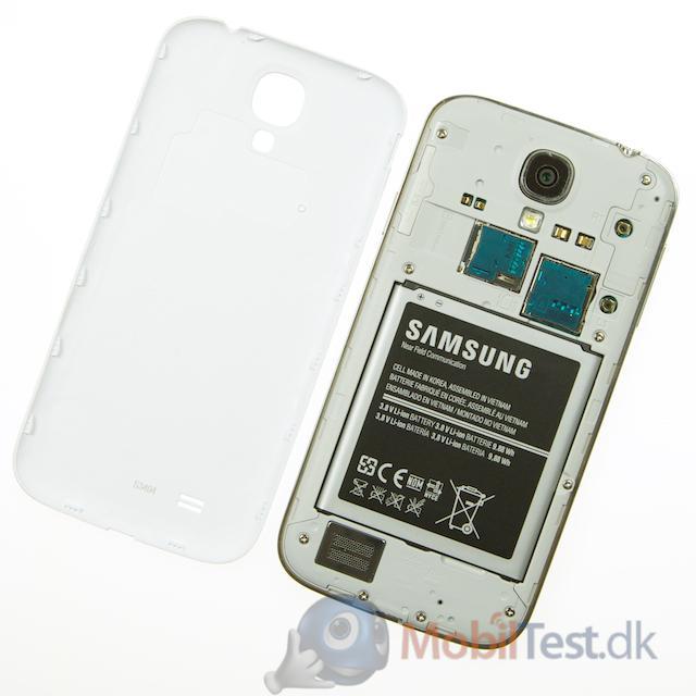 Bemærk mulighed for microSD-kort