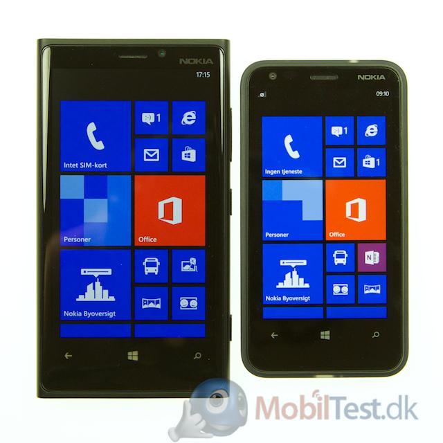 Lumia 920 og 620