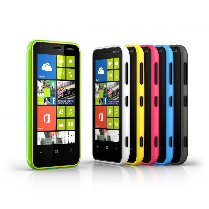 Farvemulighederne med Lumia 620