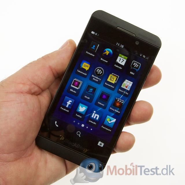 Z10 - en lækker mobil