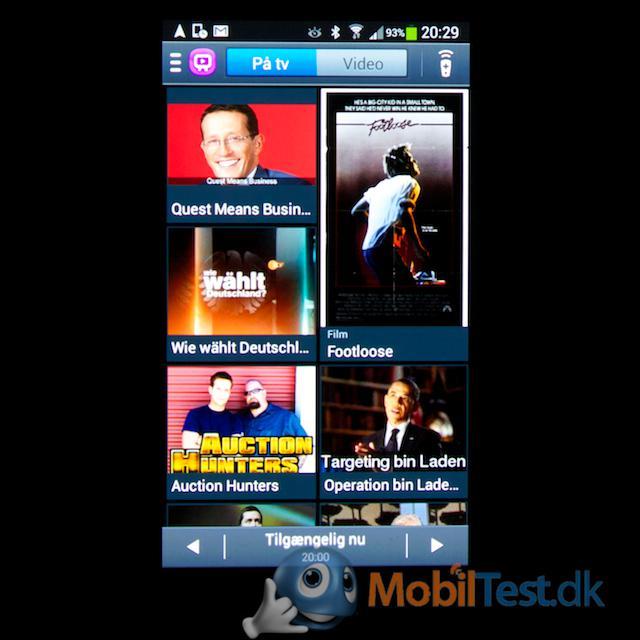 TV-remoteoversigt