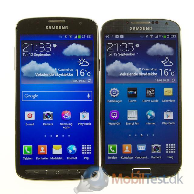 S4 Active og Galaxy S4