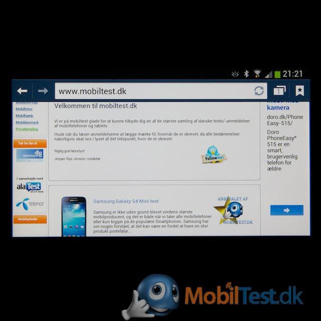 Samsungs webbrowser