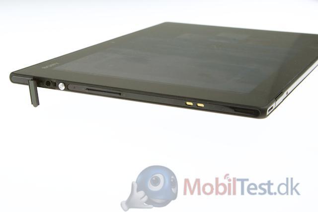 Venstre side af Xperia Tablet Z