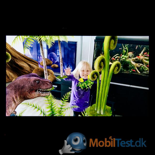 Dino AR-effekt
