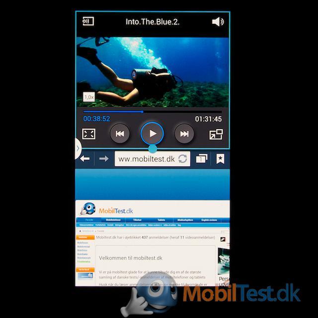 Dual skærm-view