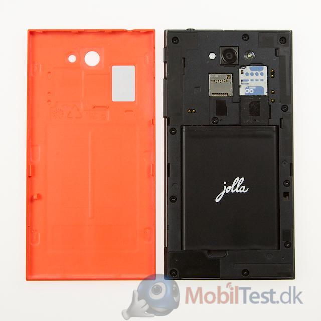 2100 mAh batteri og SD-kort