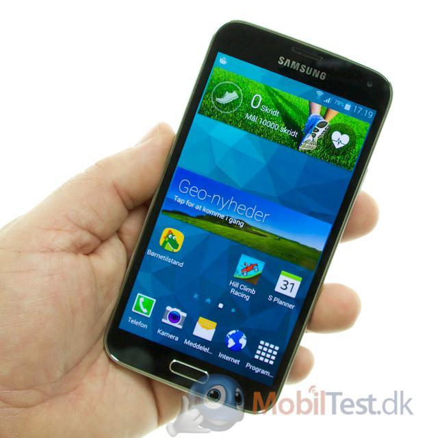 Galaxy S5 med kendt design