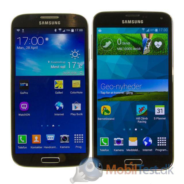 Galaxy S4 og Galaxy S5