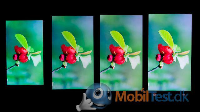 Skærmen på Galaxy S2, S3, S4 og S5