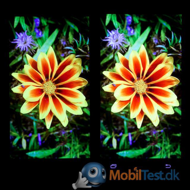 Skærmen på Galaxy S4 og S5