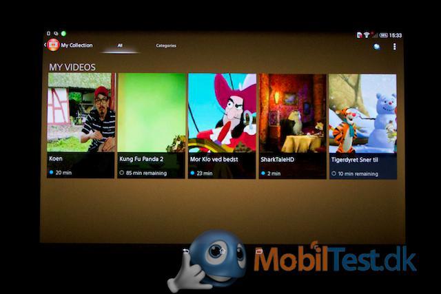 Videooversigt