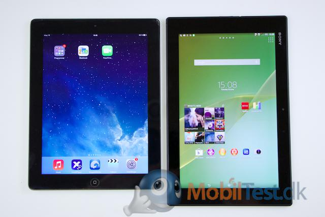 iPad 3 og Z2 tablet