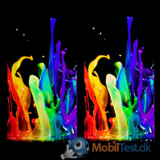 OnePlus One (tv) og LG G3 (th)