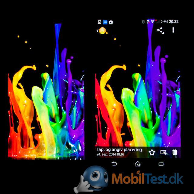 LG G3 og Xperia Z3