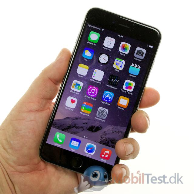 iPhone 6 plus er ikke en lille mobil