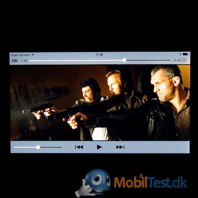 Videoafspilleren er bedst til Apples eget format