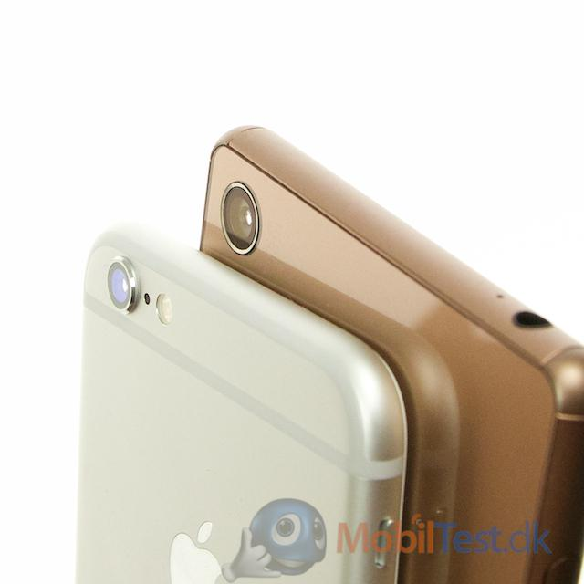 Kameraet på iPhone 6 og Sony Xperia Z3