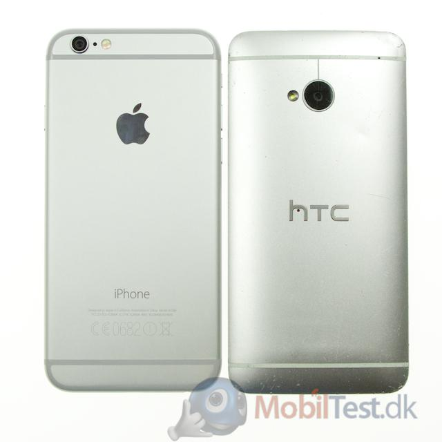 iPhone 6 og HTC One