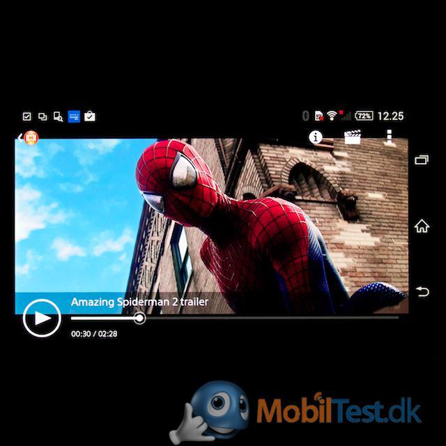 God videoafspiller men lille skærm