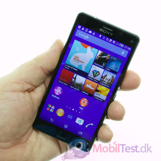 Z3 Compact er en fin lille telefon