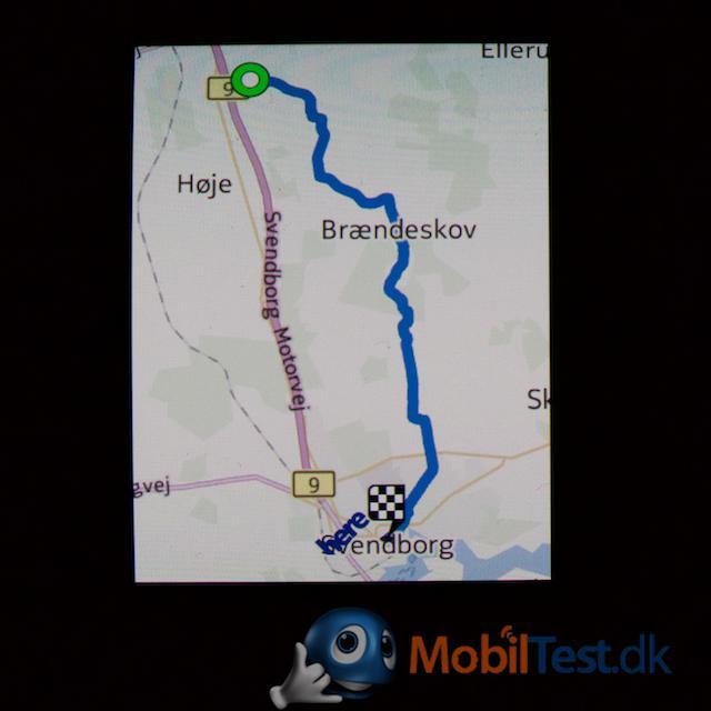 Navigation på Gear S
