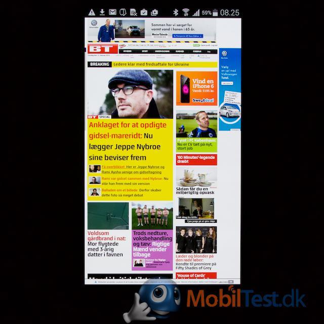 God oversigt over fuld webside