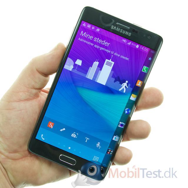 Note edge er ikke en lille mobil