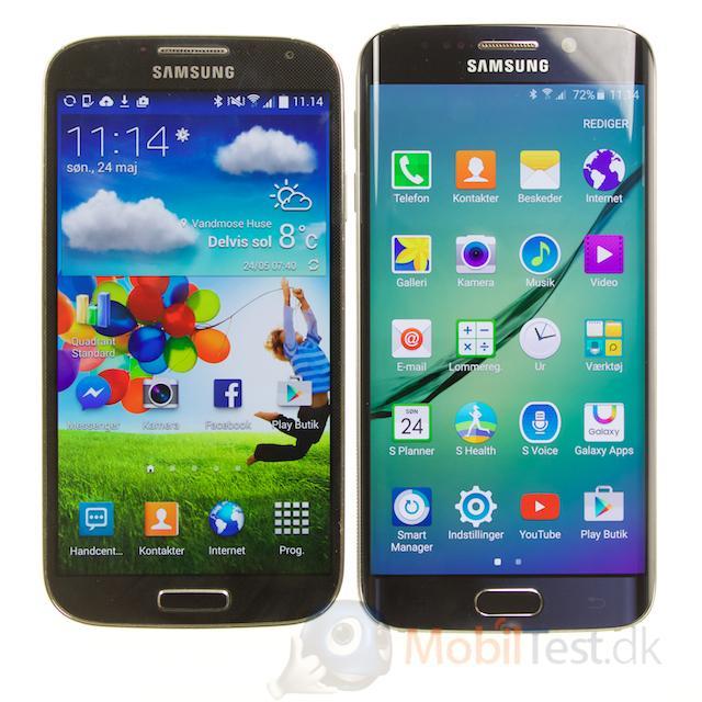 Galaxy S5 og S6 Edge