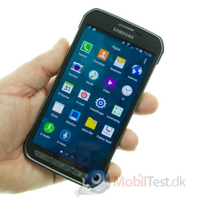 S5 Active er ikke en lille mobil