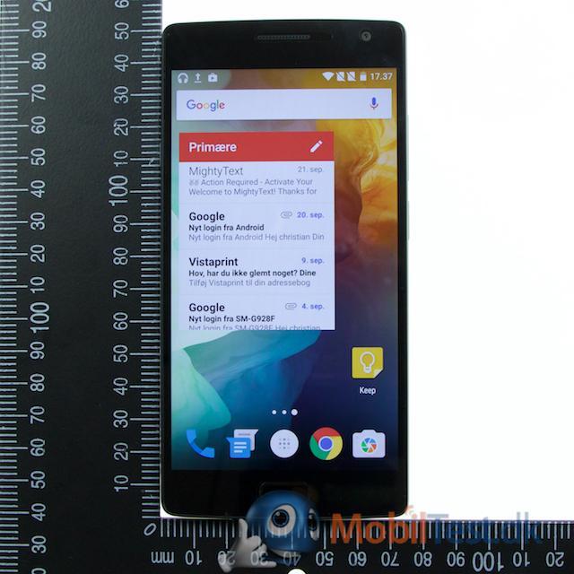 OnePlus 2 er ikke en lille mobil