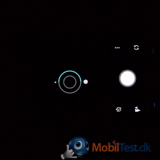 Kamera med lystilpasning