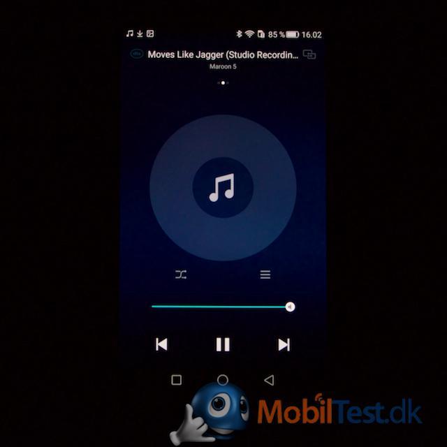 Huawei P8's egen musikafspiller
