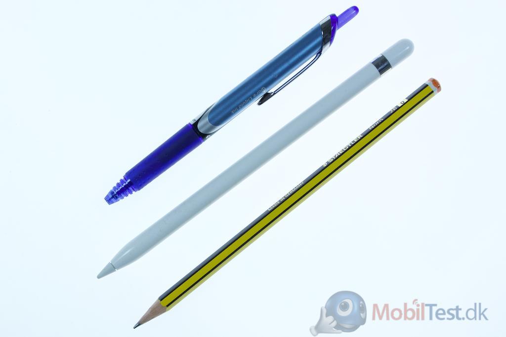 Kuglepen, Apple Pencil og blyant