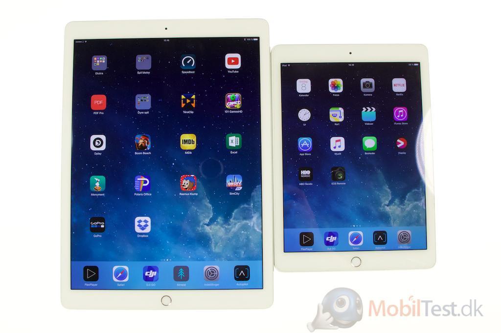 iPad Pro og iPad Air