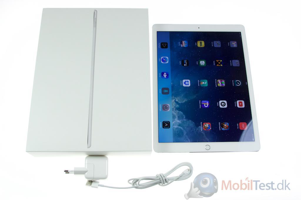 iPad Pro med tilbehør