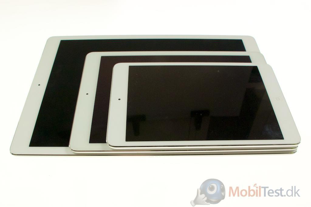 iPad Pro, iPad Air 2 og iPad Mini