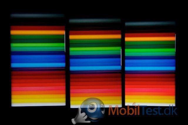 S6 Edge+, S7 Edge og Galaxy S8 med flotte farver