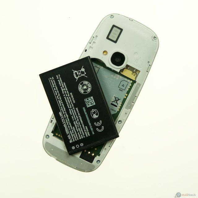 Stort og udskifteligt batteri