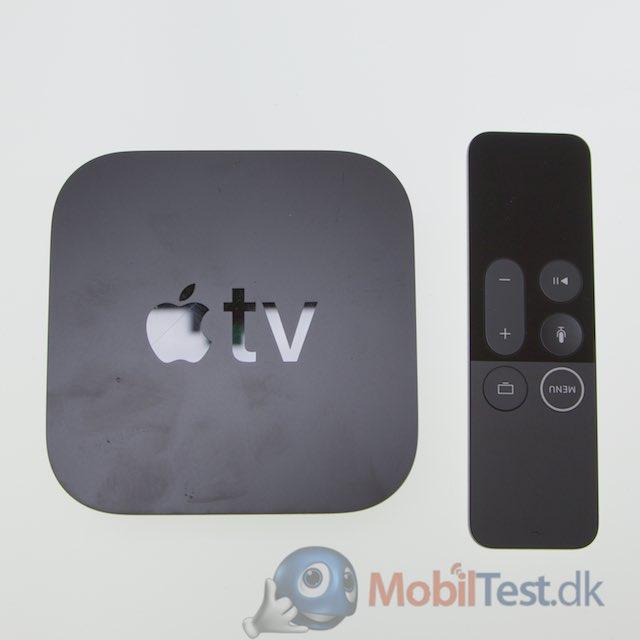 Apple TV 4K med fjernbetjening
